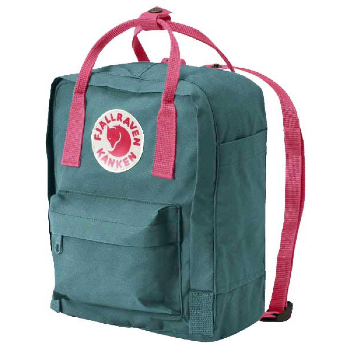 código promocional 14124 80050 Fjallraven Kanken mochila mini Verde bosque Rosa