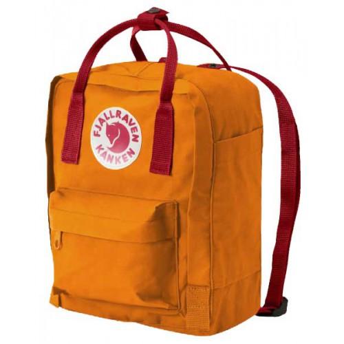 Fjallraven Kanken mochila mini Amarillo Rojo